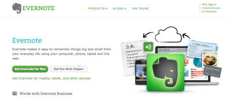 Evernote helps.