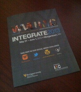 I found myself flipping through the Integrate Conference Book last night trying to choose which Breakout Sessions to attend.