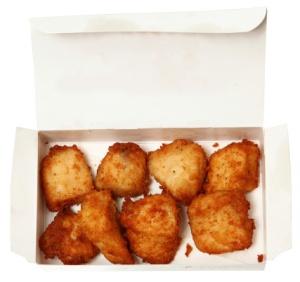 chicken nugget box