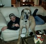 My boyfriend Ron and Diesel