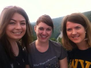 Last year I ended my INTEGRATE experience with a visit to Coopers Rock with fellow bloggers Kat and Julie.